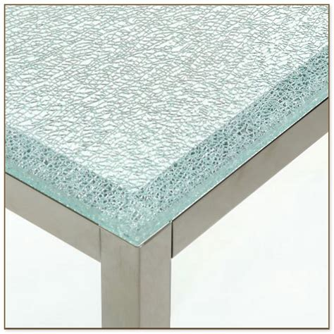 crackle glass table l crackle glass dining table