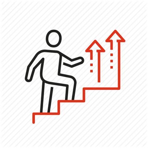 12253 career development icon business career 9 by maksim evseev