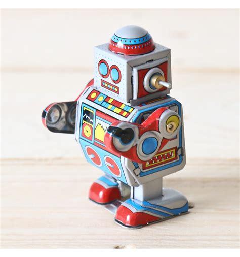 petit robot mecanique vintage