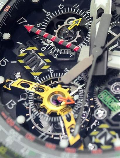 Mille Richard Rm Chronograph Aviation Tourbillon Flyback