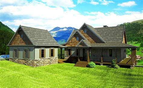 photos and inspiration house with detached garage mountain house plans with detached garage home deco plans