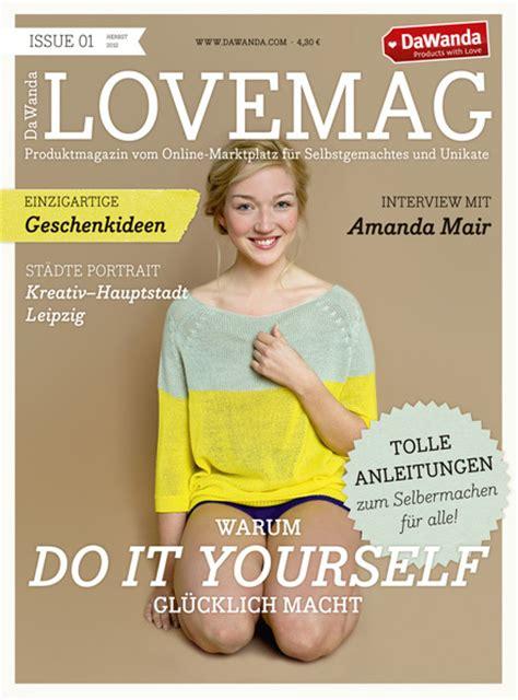 Deli Magazin Abo by Dawanda Magazin Lovemag Page