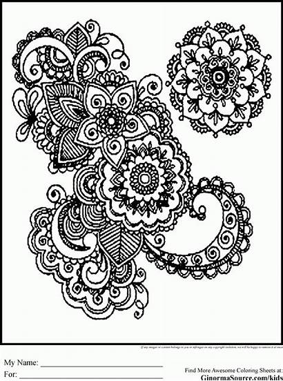 Coloring Pages Printable Extreme Mandala Fairy Popular
