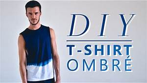 Comment Faire Un Tie And Dye : tuto couture comment faire un ombr ou tie and dye sur un t shirt tuto facile et rapide ~ Melissatoandfro.com Idées de Décoration