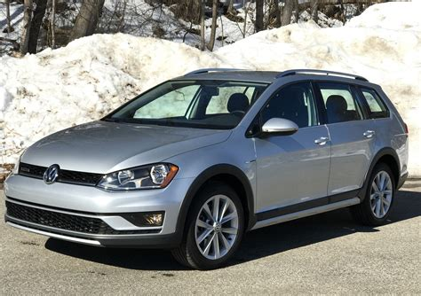 2017 Volkswagen Golf Alltrack The Wagon Makes A Comeback