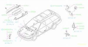 Subaru Legacy Bracket-fender  Left  Abs  Wiring  Main  Harness