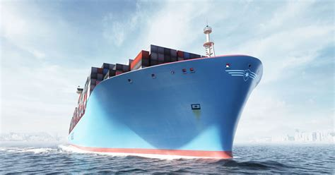 ce porte conteneurs mesurant plus de 70 m 232 tres de haut est le plus grand navire jamais construit