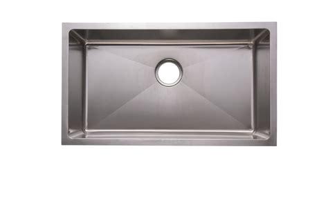 18 x 18 kitchen sink as3339 28 75 quot x 18 75 quot x 9 quot 18g single bowl undermount