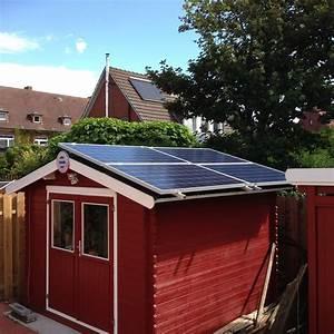 Mini Solaranlage Für Gartenhaus : solar gartenhaus kleine solaranlagen auf dem schr gdach ~ Articles-book.com Haus und Dekorationen