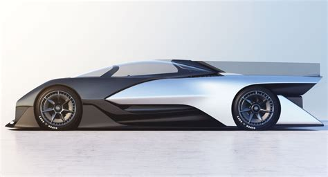 Future Electric Cars by Faraday Future Unveils Stunning 1 000 Horsepower Ffzero1