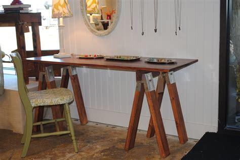 desk furniture cutsom sawhorse desk listing at 60 quot l desks diy