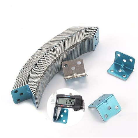 Cupboard Fittings by 50pcs Stainless Steel 90 Degrees Right Angled Connector