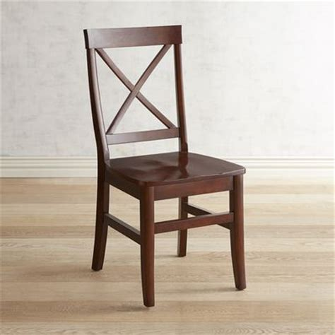 torrance mahogany brown dining chair pier 1 imports