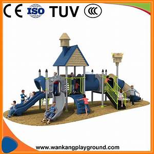China Children Outdoor Play Castle Plastic Playground Park