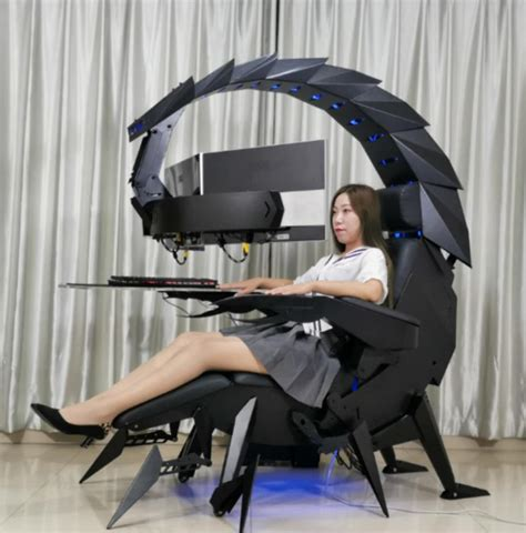scorpion style gaming chair moves   arachnid nerdist