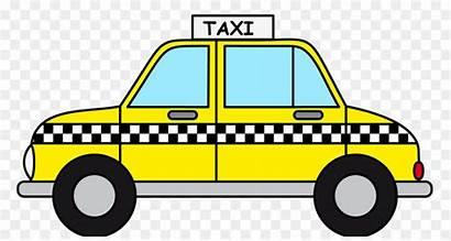Cab Yellow York Clip Taxi Taxicabs