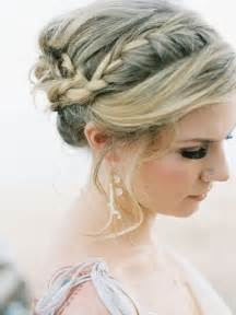 Braid Updo Hairstyles with Bangs