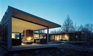 Modern Ranch Style Houses V-shaped Ranch House ...