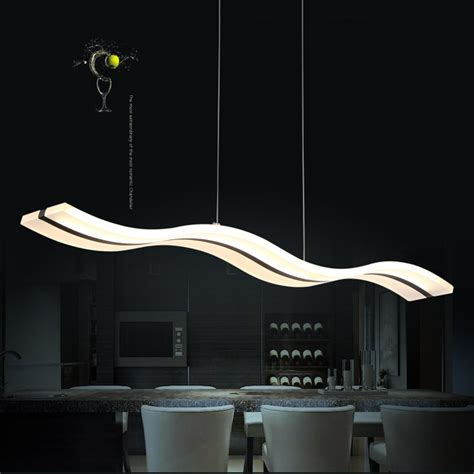 modern small led pendant hanging kitchen lights