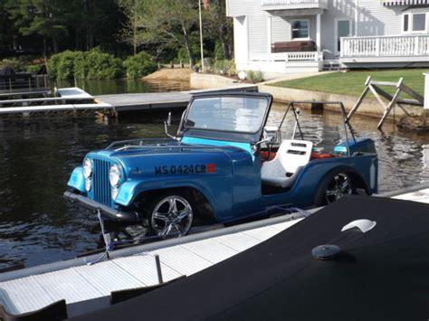 Jeep Jet Ski Boat Wrangler Cj Outboard One In The World