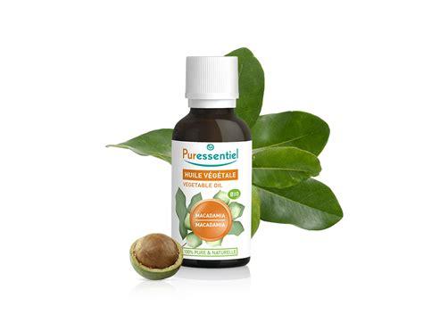 huile macadamia cuisine macadamia bio huile végétale 30ml puressentiel