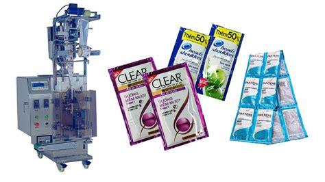 automatic shampoo sachet packing machine youtube