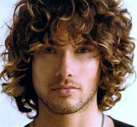 great curly hairstyles  men inspirations  ideas