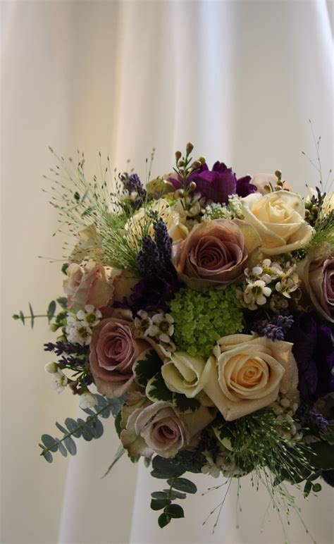 The Flower Magician Vintage Spring Wedding Bouquet