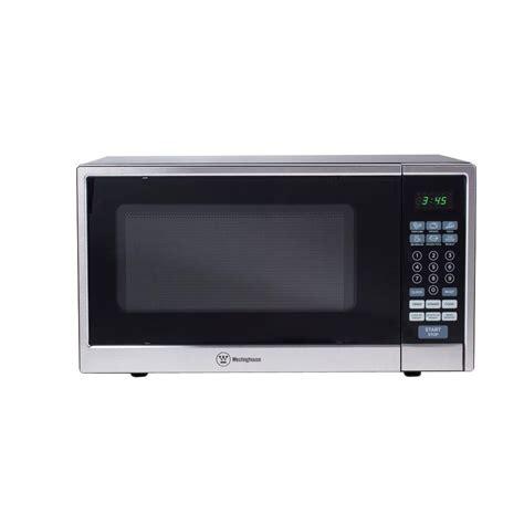 stainless steel countertop microwave westinghouse 1 1 cu ft 1000 watt countertop microwave in
