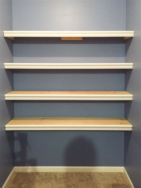 how to make a wall shelf how to build wall to wall shelves