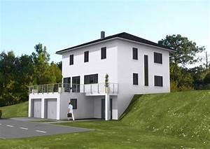 Garage Im Haus : haus am s dhang grundrissforum auf ~ Lizthompson.info Haus und Dekorationen