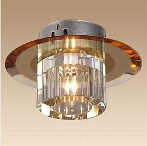 New Modern Crystal 3w Led Ceiling Light Fixture Led Indoor