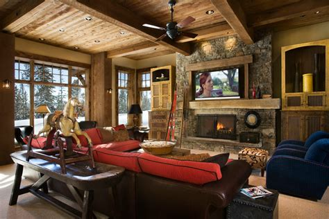 beauty  comfort  lodge style interiors