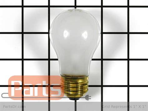 8009 whirlpool 40w appliance light bulb parts dr