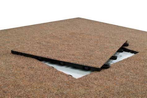 Interlocking Carpet Tiles  Tan (winter Wheat