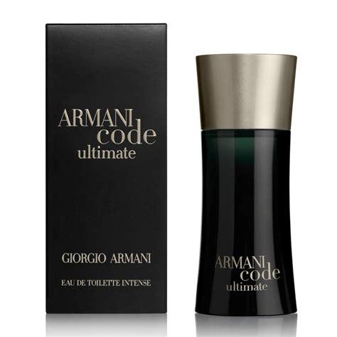 giorgio armani code eau de toilette giorgio armani code ultimate eau de toilette 50ml