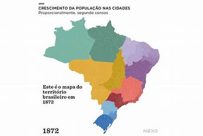 Population Demographics Urban Brazil Land