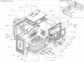 exploded diagram  saey blenheim stove