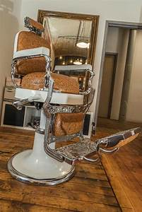 Restored 1920 Koken Vintage Barber Chair