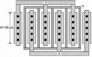 Layout Of Multiple Gate Finger Nmos Transistors