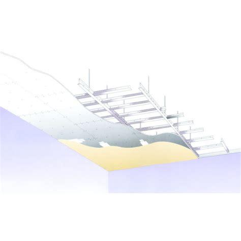 ossature pour plafond suspendu en plaques de pl 226 tre