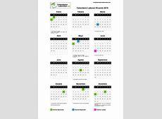 Calendario Laboral Alicante 2019
