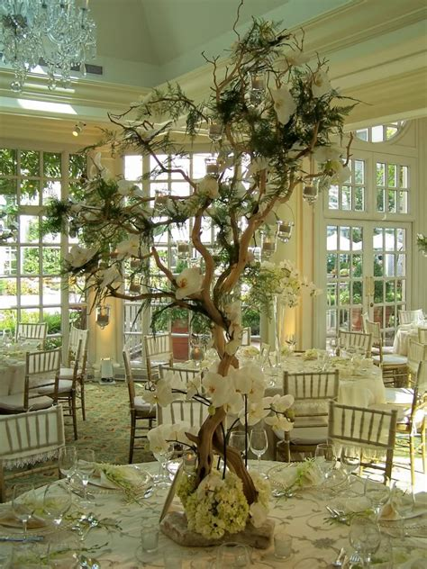 wedding tree decorations event planner miami linens miami table linen and