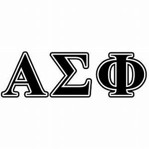 alpha sigma phi official merchandise at zazzle With alpha sigma phi letters