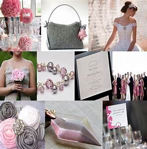 Wedding Motif Pink And Gray March Wedding Philippines