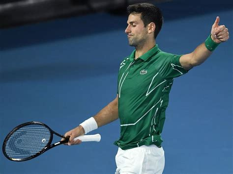 Rest in paradise legend ❤️ #maradona. Novak Djokovic Hits 17-0 Against Monfils. - Sports Center Direct