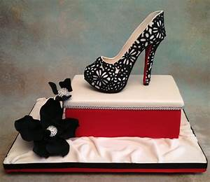 You have to see Fondant/gum-paste high heel shoe by