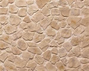 Papier Peint Pierre Blanche : mur de pierre blanche papier peint fausse pierre en ce ~ Dailycaller-alerts.com Idées de Décoration