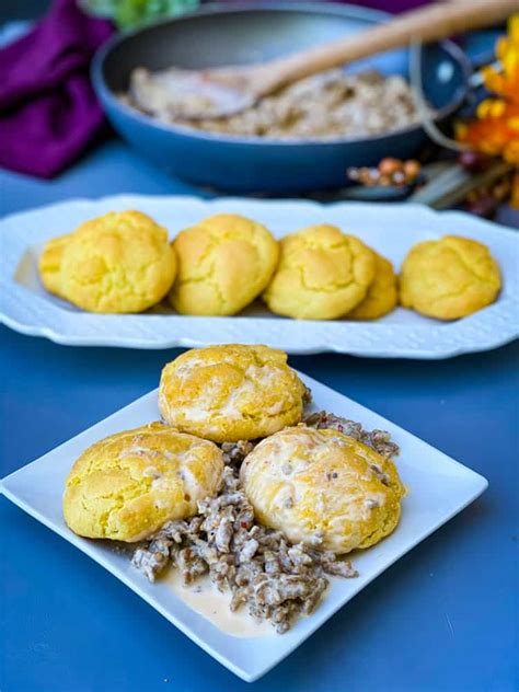 gravy keto biscuits carb low easy