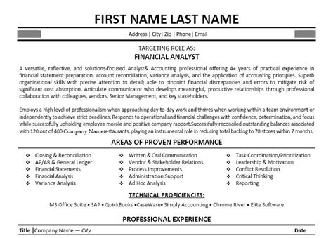 Financial Analyst Resume Template Free by Pin By Hustead On My Work Business Resume Template